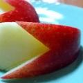 りんごの飾り切り★ウサギ★お弁当にぴったり★
