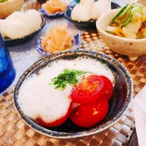 ミニトマトの長芋和え☆