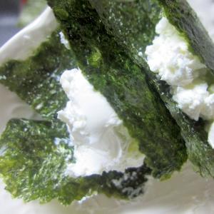 クリームチーズと海苔の簡単おつまみ☆
