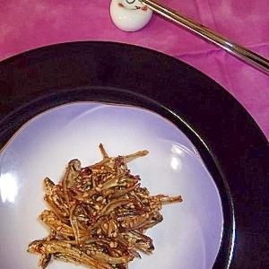焼肉のタレで簡単★韓国風「田作り」
