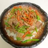 肉野菜の丼★