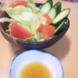 牛角風手作りドレッシング☆チョレギサラダ
