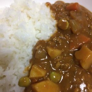 枝豆カレー(´Д` )