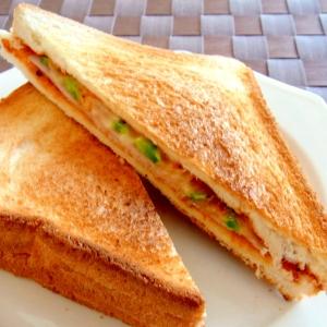 パニーニ風サンドイッチ