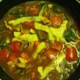 カジキのカレートマト煮