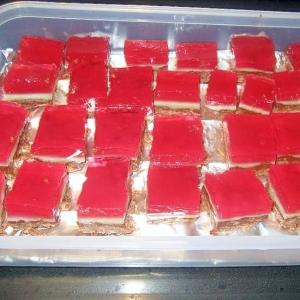 4層のゼリー・ケーキ