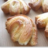 冷凍生地で作る一口サイズのデニッシュパン