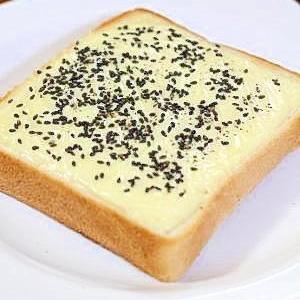 チーズに咲く♪ごまチップトースト