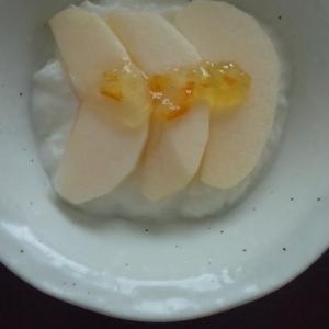 リンゴとマーマレード☆ヨーグルト
