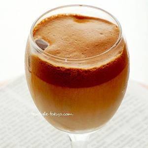 カフェインレス版♪ダルゴナアイスミルクティー