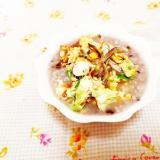 いりこ&炒り卵のっけ粥