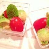 【低カロリー】手作りドレッシングの一口サラダ