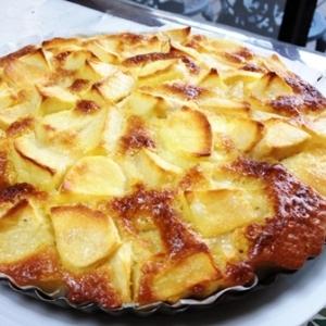 りんごだらけのりんごケーキ