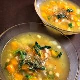 パプリカの冷静コンソメスープ