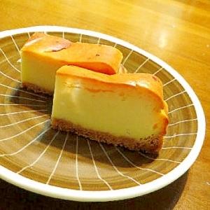 カルピス入りのベイクドチーズケーキ