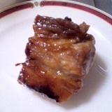 レンジで作る♪豚肉の角煮
