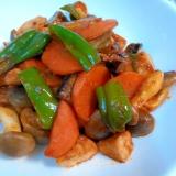 味付けは超簡単☆カジキマグロと野菜炒め
