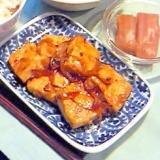 塩(麹)豆腐の生姜焼き