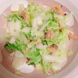 白菜とアサリの昆布茶蒸し