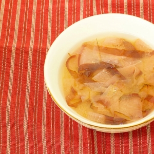 かちゅーゆー(湯かきみそ汁)