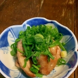 居酒屋メニュー☆鴨の塩焼きネギまみれ