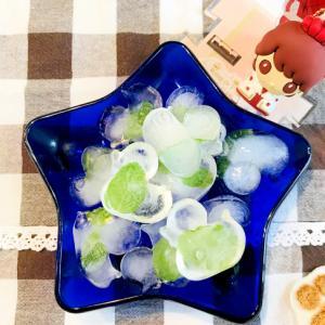 おうちカフェでステキなおもてなし♡ミント氷