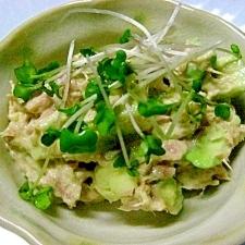 ツナとアボカドのサラダ