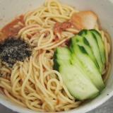 混ぜ麺の冷凍トマト汁
