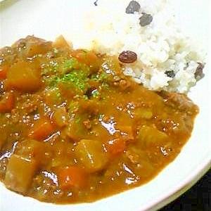 野菜コロコロ☆和風カレー