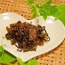 ゴーヤと椎茸の佃煮