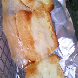 【糖質制限】簡単一品☆油揚げのチーズ焼き