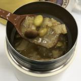 白菜クミンカレースープオートミール約230kcal