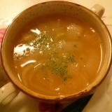玉ねぎたっぷりオニオンスープ