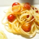 初夏の昼に最適な、さくらんぼの冷製スパゲッティーニ