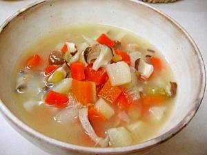*野菜たっぷり★あったかスープ*