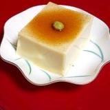 粉ゼラチンで作る簡単 《ごま豆腐》