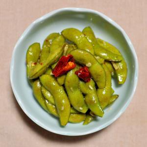 枝豆のスイートチリソース&ナンプラー炒め