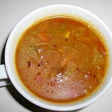 スパイスたっぷり脂肪燃焼スープ