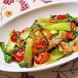 夏野菜とツナ缶で彩り地中海風ソテー