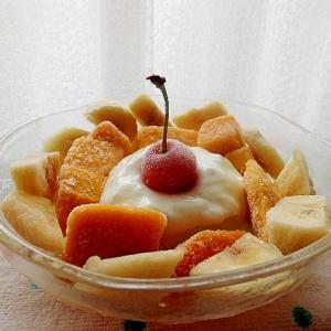 冷凍フルーツの盛り合わせ