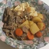 簡単美味しい 肉じゃが風 肉豆腐