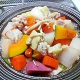 ヘルシー塩麹でお野菜のタジン鍋♪