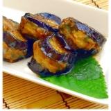 紫蘇でさっぱり☆茄子のはさみ焼き