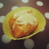 離乳食~幼児食☆お弁当にも☆かぼちゃのチーズのせ