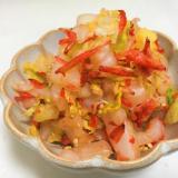 白菜と干し海老のナムル