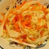 白菜と人参の簡単サラダ