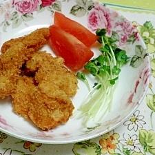 鶏ムネ肉のカツ