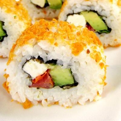 キャタピラロール、ドリトスロール・・・気になる海外の変わりねたのお寿司