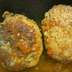 フライパンひとつで簡単☆煮込みハンバーグ