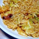 焼き肉のたれキムチ炒飯★